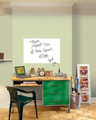 White Dry Erase Message Board Decal - Window Film World