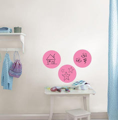 Flirt Dry Erase Decal Dot - Window Film World