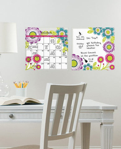 Poppy Message and Calendar Decal Set - Window Film World