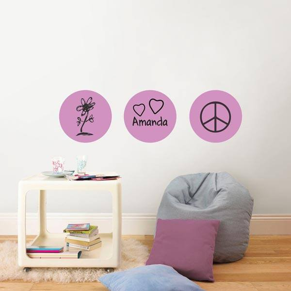 Plush Dry Erase Decal Dot - Window Film World