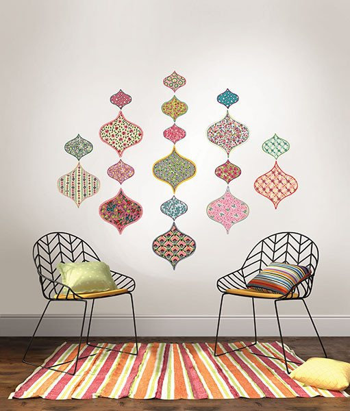 Boho Chic Wall Art Kit - Window Film World
