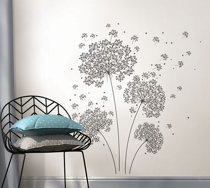 Dandelion Breeze Applique - Window Film World