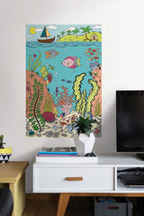 The Reef Coloring Wall Decal - Window Film World