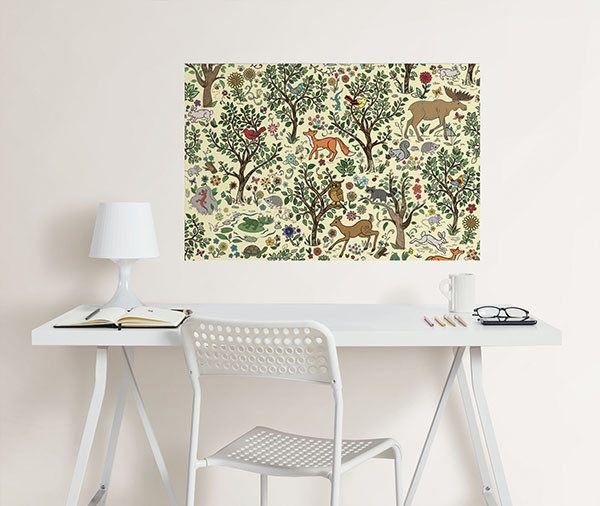 Wilderness Coloring Wall Decal - Window Film World