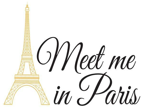 Meet Me in Paris Wall Quote - Window Film World