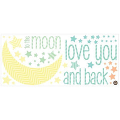 I Love You To The Moon Quotes - Window Film World