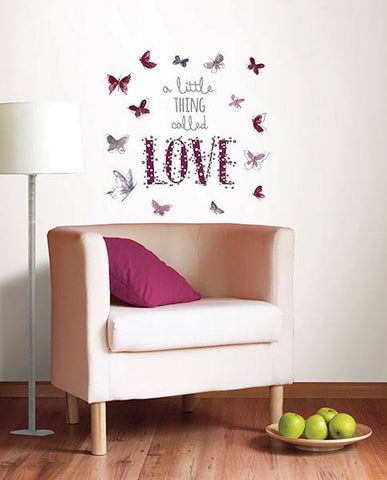 A Little Thing Called Love Wall Sticker - Window Film World