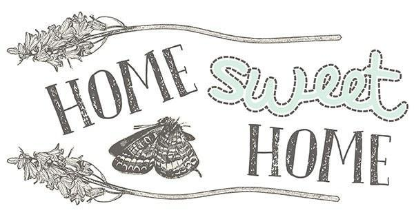 Home Sweet Home Wall Sticker - Window Film World