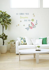 Go Where Your Dreams Take You Wall Sticker - Window Film World