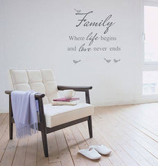 Family Wall Sticker - Window Film World