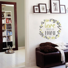 Love Starts At Home Wall Sticker - Window Film World