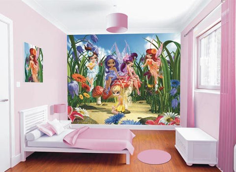 Magical Fairies Wall Mural - Window Film World