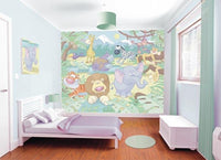 Baby Jungle Safari Adhesive Wall Mural - Window Film World
