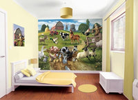 Farmyard Fun Wall Mural - Window Film World