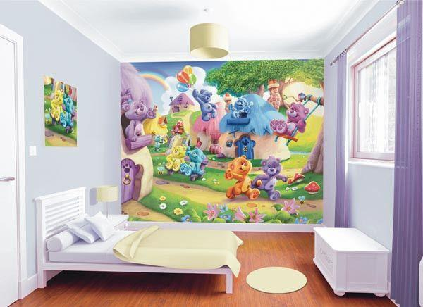 The Button Bears Wall Mural - Window Film World