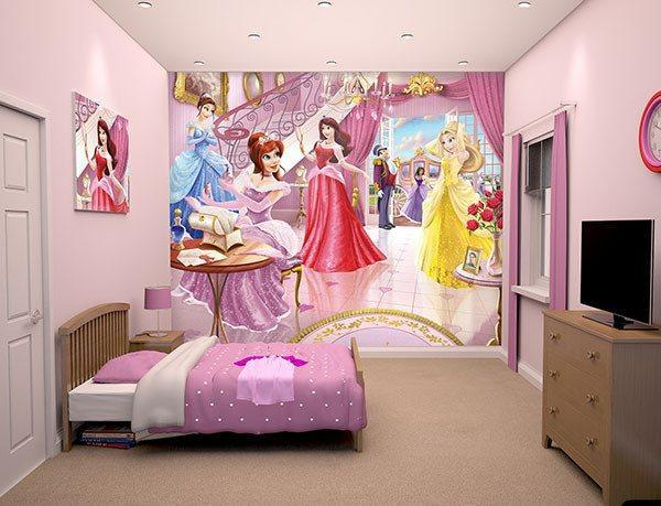 Princess Wall Mural - Window Film World