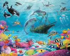 Sea Adventure Wall Mural - Window Film World