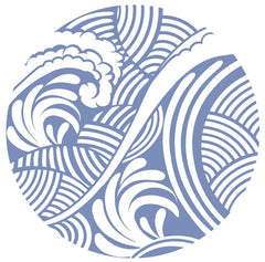 "Waves Screen Door Magnets (5.75"" x 5.75"") - Window Film World"