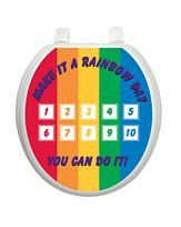 Rainbow Day Potty Chart - Window Film World