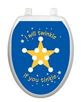 Twinkle Star Potty Chart - Window Film World
