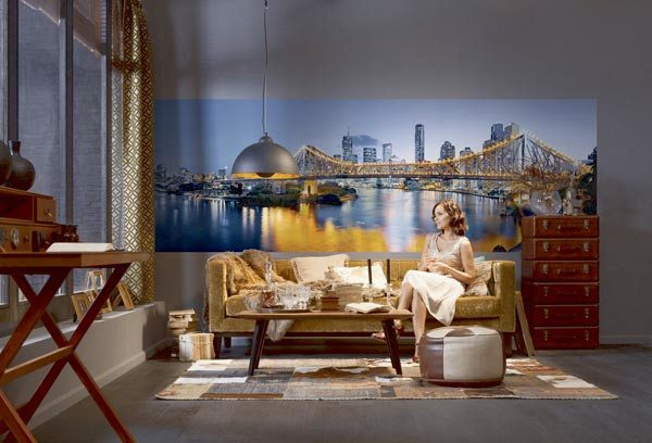 Brisbane Wall Mural - Window Film World