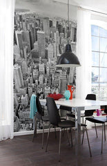 Uptown Wall Mural - Window Film World