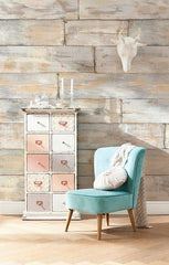 Shabby Chic Wall Mural - Window Film World