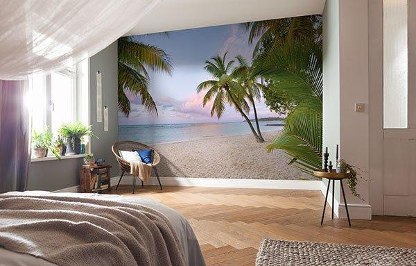 Paradise Morning Mural - Window Film World