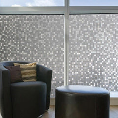 EZ Film Glass Blocks | Privacy Window Film (Static Cling) - Window Film World