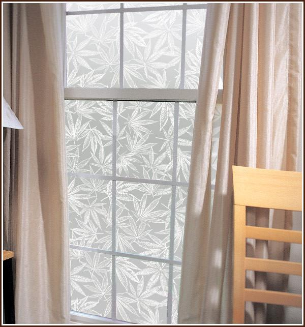 Amsterdam | Frosted Privacy Film (Static Cling) - Window Film World