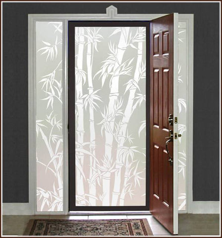 Big Bamboo Privacy Window Film - Window Film World