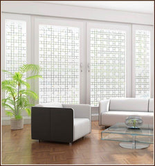 Boardwalk | Semi - Privacy Window Film (Static Cling) - Window Film World
