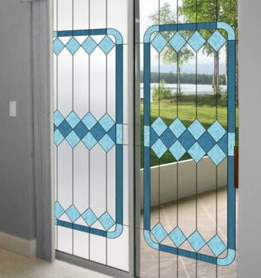 stained glass window film privacy decorative static. Black Bedroom Furniture Sets. Home Design Ideas