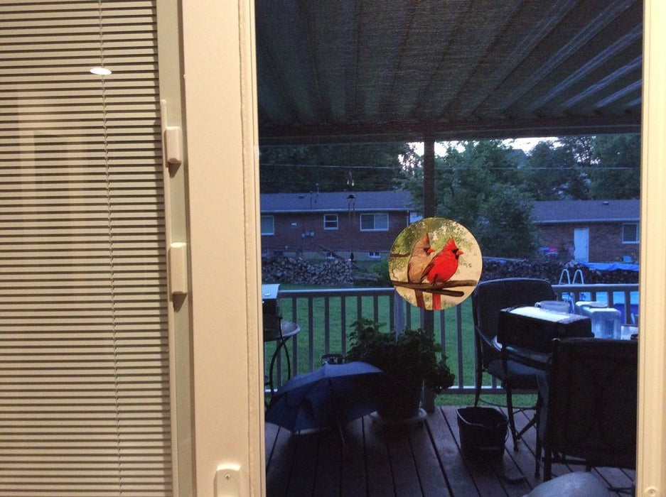 "Cardinal Screen Door Magnets (5.75"" x 5.75"") - Window Film World"