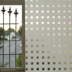 Caree  Static Cling Privacy Window Film - Window Film World