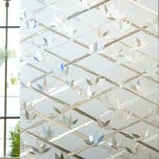 Cut Glass Bamboo Privacy Window Film - Window Film World