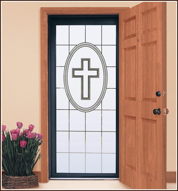 Faith | Decorative Window Film (Static Cling) - Window Film World