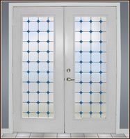 Monterey Bay Stained Glass |Privacy (Static Cling) - Window Film World