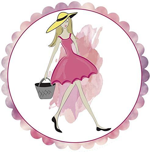 "Fashion Girl  Screen Door Magnets (5.75"" x 5.75"") - Window Film World"