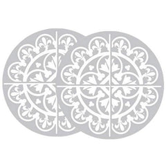 Retractable Screen Door Stickers (4