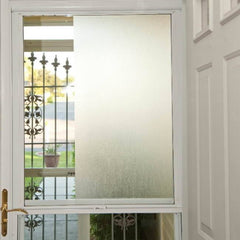 Linen Static Cling Privacy Window Film - Window Film World