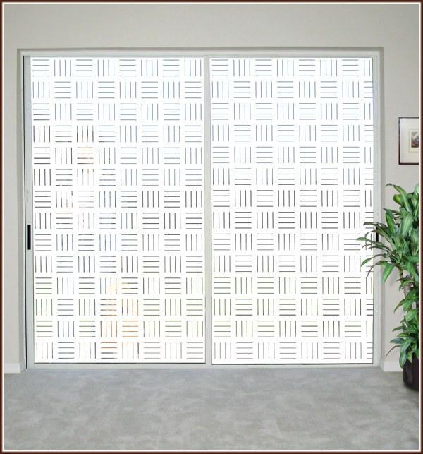 Line-Up | Semi Privacy Window Film (Static Cling) - Window Film World