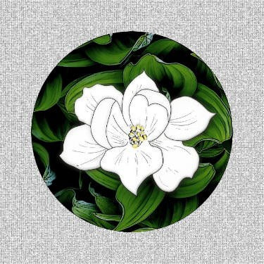 "Magnolia Screen Door Magnets (5.75"" X 5.75"" ) - Window Film World"