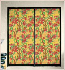 Mandalay Privacy Stained Glass Window Film - Window Film World