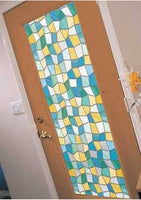 Mirage Stained Glass Window Film| Privacy (Static Cling) - Window Film World