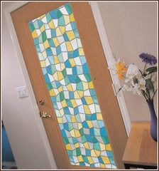 Mirage Privacy Stained Glass Window Film - Window Film World