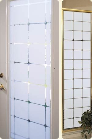 Decorative Window Film | Semi Privacy | Etched Glass Vinyl