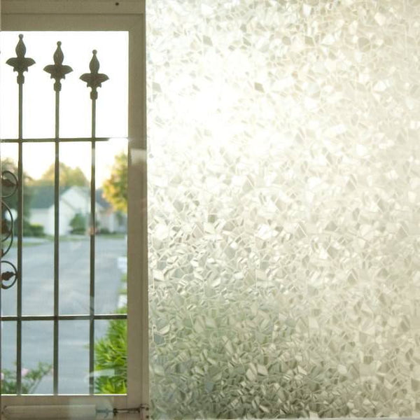 Privacy Window Film Static Cling Brewster Mosaic
