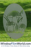"4"" x 6"" Oval Mushroom 
