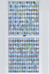 Peacock Stained Glass Window Film - Window Film World